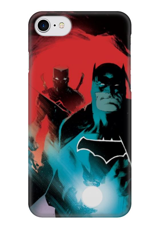 Чехол для iPhone 7 глянцевый Printio Бэтмен sony xperia mooncase дело м5 гибкие мягкой гель тпу силикон кожу слим прочного дело покрытия золото