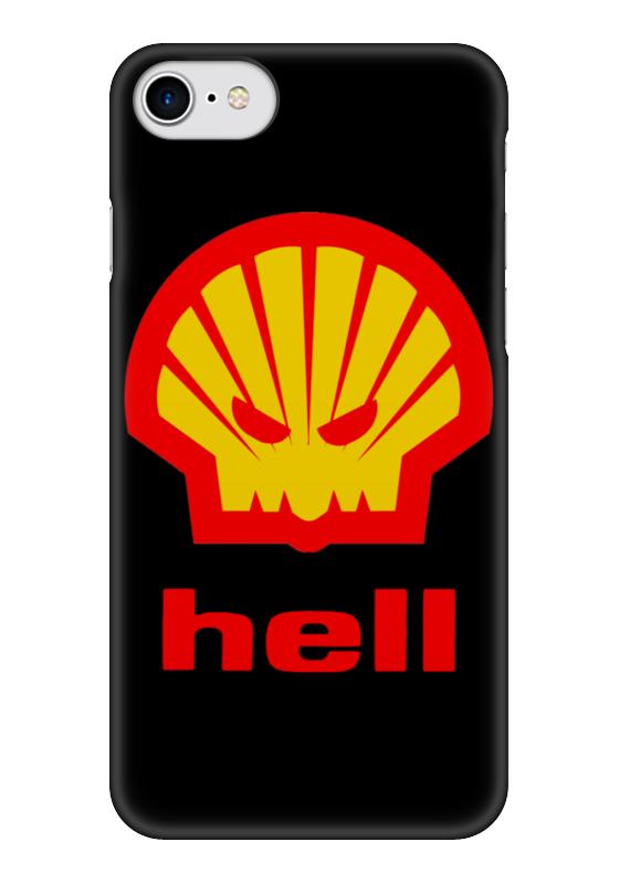 Чехол для iPhone 7 глянцевый Printio Hell (ад) bprd hell on earth v 7