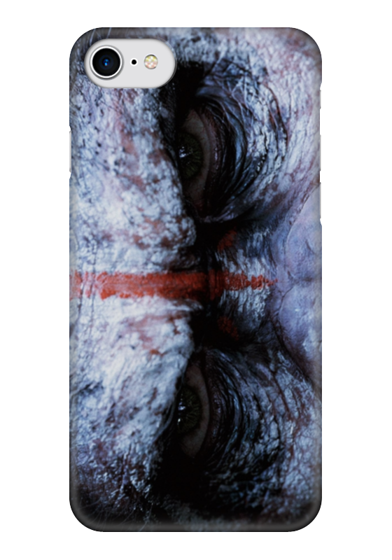 Чехол для iPhone 7 глянцевый Printio Планета обезьян
