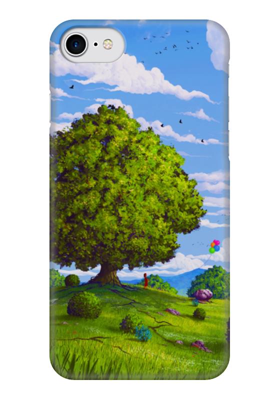 Чехол для iPhone 7 глянцевый Printio Дерево на фоне неба чехол для iphone 7 глянцевый printio сад на улице корто сад на монмартре