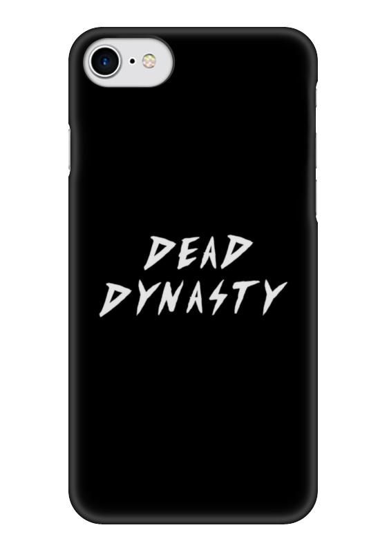 Чехол для iPhone 7 глянцевый Printio Dead dynasty чехол для iphone 7 глянцевый printio динозаврики