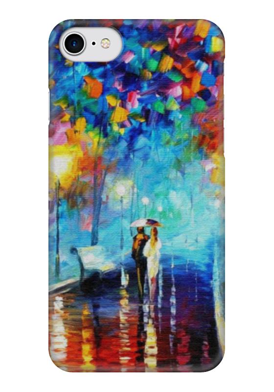 Чехол для iPhone 7 глянцевый Printio Краски осени
