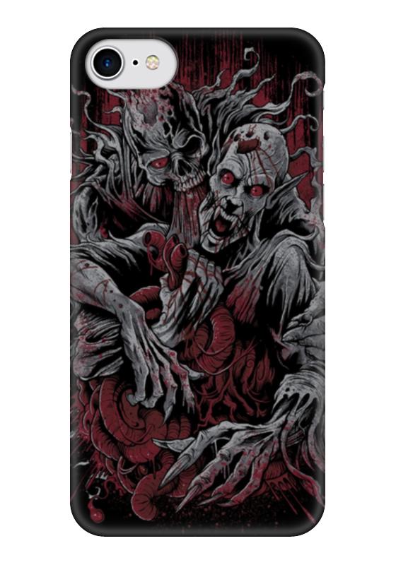 Чехол для iPhone 7 глянцевый Printio Horror art чехол для iphone 6 глянцевый printio horror art