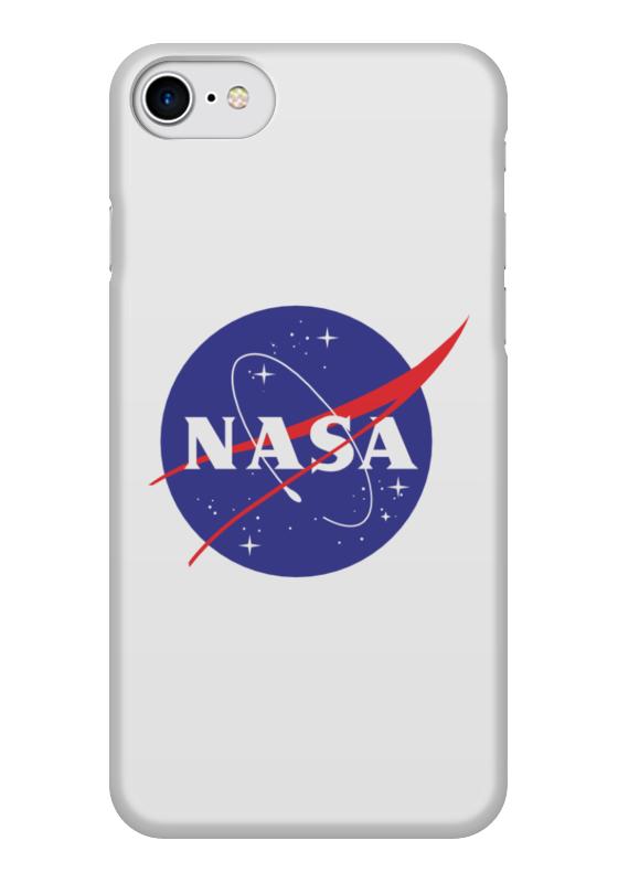 Чехол для iPhone 7 глянцевый Printio Nasa | наса чехол для iphone 7 глянцевый printio первый полет в космос космонавта юрия гагарина
