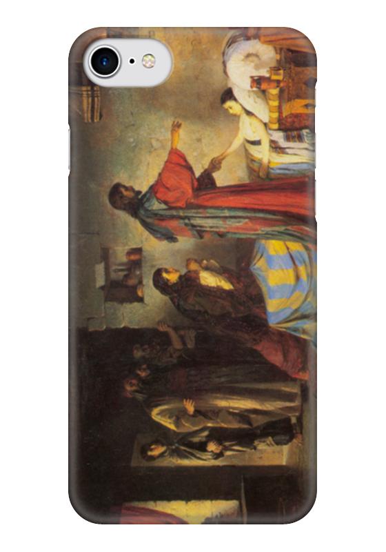Чехол для iPhone 7 глянцевый Printio Воскрешение дочери иаира григорьян ирина игоревна мещерина елена григорьевна мастера жанровой живописи