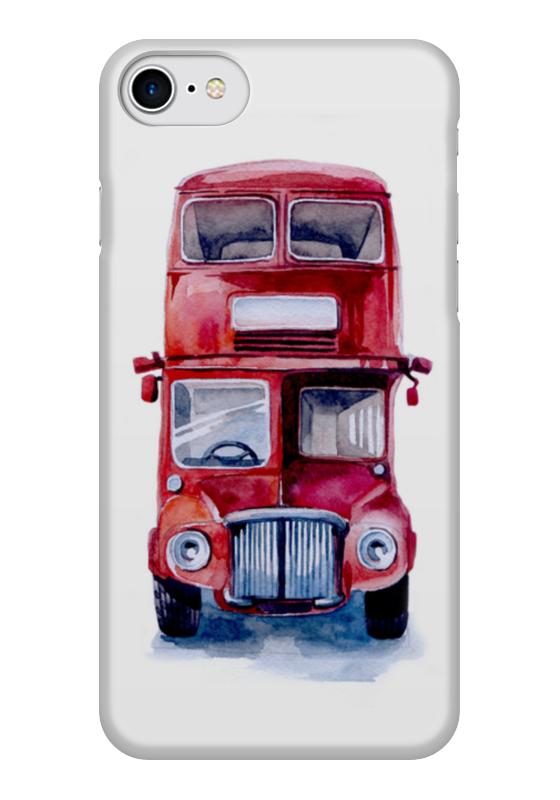 Чехол для iPhone 7 глянцевый Printio London bus стоимость
