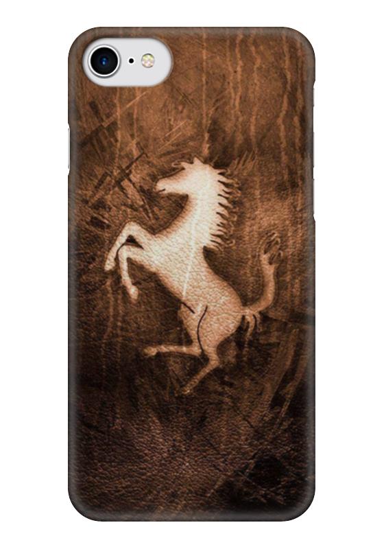 Чехол для iPhone 7 глянцевый Printio Конь (lamborghini)