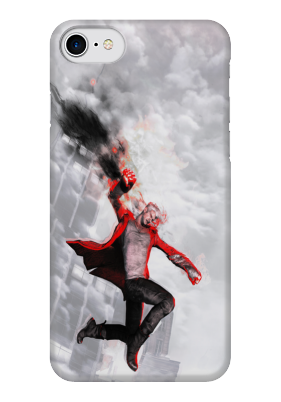 Чехол для iPhone 7 глянцевый Printio Devil may cry halloween toy gift devil may cry 3 action figure collection 23cm pa kai dante model doll movable decorations