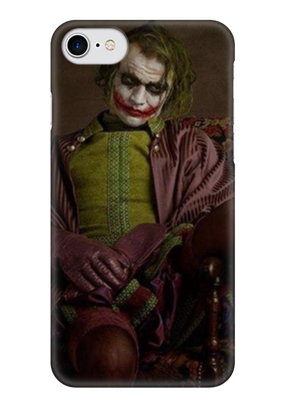 Чехол для iPhone 7 глянцевый Printio Joker чехол для iphone 7 глянцевый printio horror art