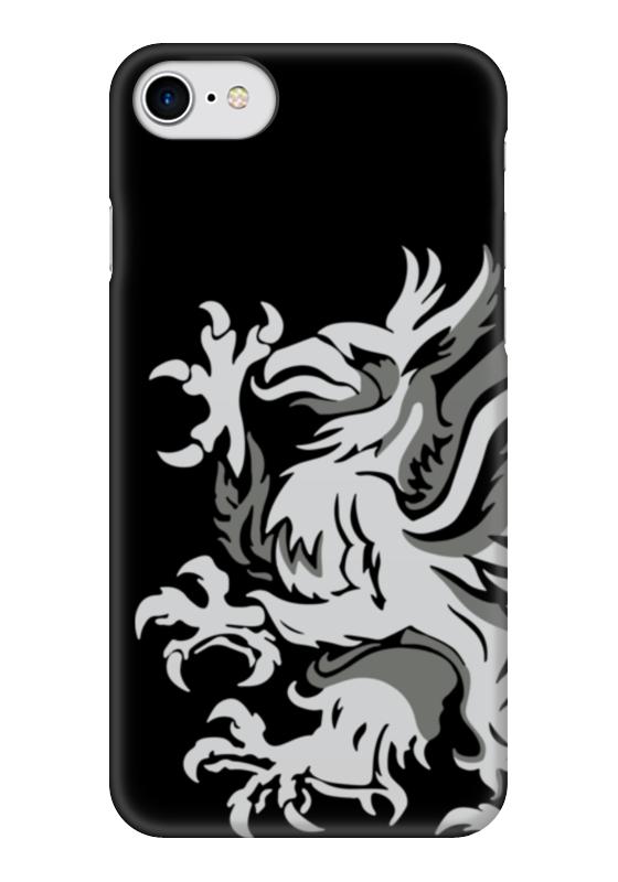 Чехол для iPhone 7 глянцевый Printio Dragon age. серые стражи чехол для iphone 7 глянцевый printio стражи галактики