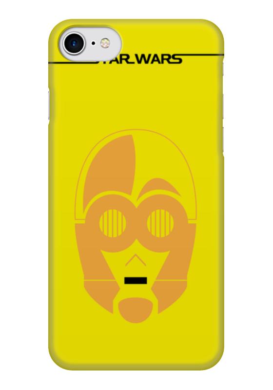 Чехол для iPhone 7 глянцевый Printio C-3po starwars мягкая игрушка c 3po