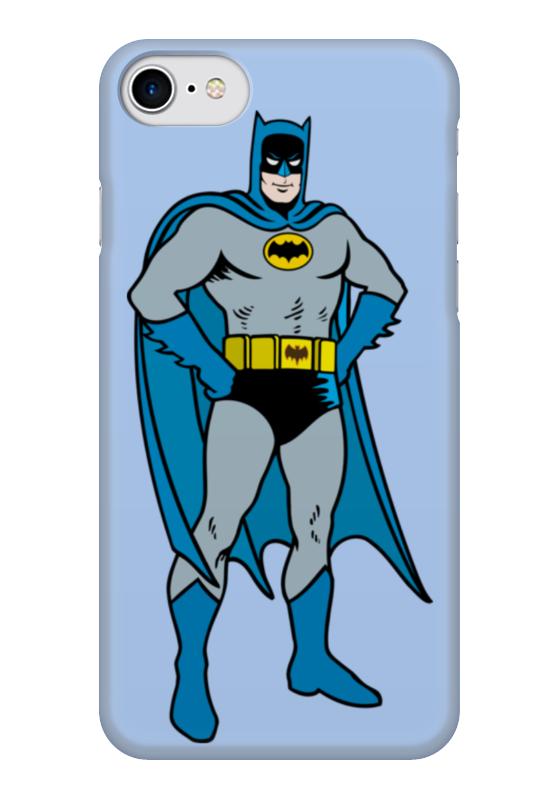 Чехол для iPhone 7 глянцевый Printio Бэтмен чехол для iphone 7 глянцевый printio супергерои комиксов