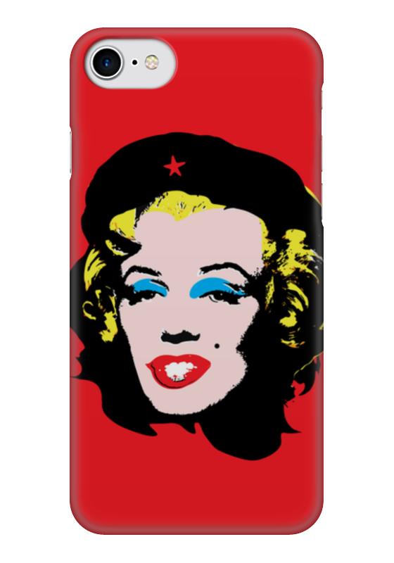 Чехол для iPhone 7 глянцевый Printio Che guevara- marilyn monroe цена и фото