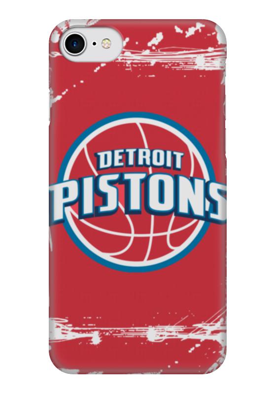 Чехол для iPhone 7 глянцевый Printio Detroit pistons аксессуар чехол samsung galaxy a3 2017 red line book type gold