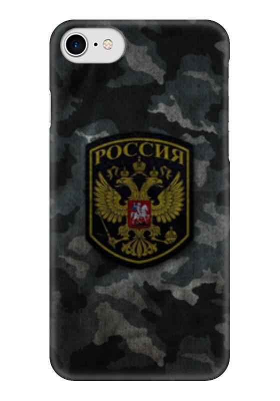 Чехол для iPhone 7 глянцевый Printio Россия камуфляж чехол для iphone 7 глянцевый printio альтрон мстители