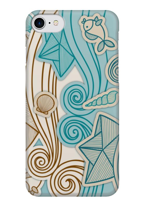Чехол для iPhone 7 глянцевый Printio Морской чехол для iphone 7 глянцевый printio сад на улице корто сад на монмартре