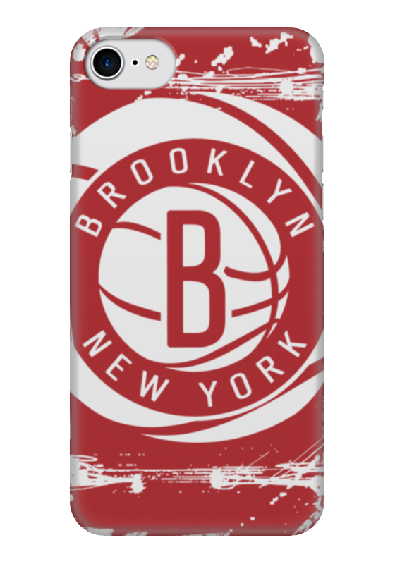 Чехол для iPhone 7 глянцевый Printio Brooklyn nets лонгслив printio brooklyn bike