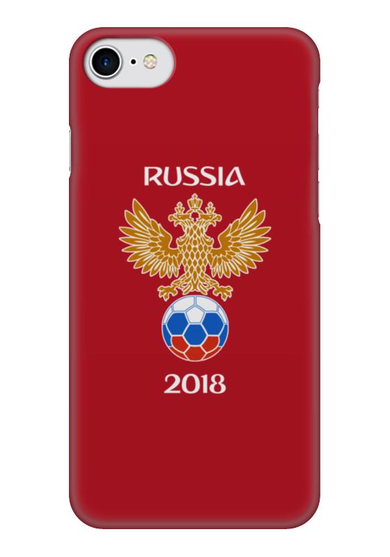 Чехол для iPhone 7 глянцевый Printio Россия футбол чехол для iphone 7 глянцевый printio альтрон мстители