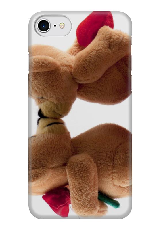 Чехол для iPhone 7 глянцевый Printio Любовь чехол для iphone 5 глянцевый с полной запечаткой printio любовь