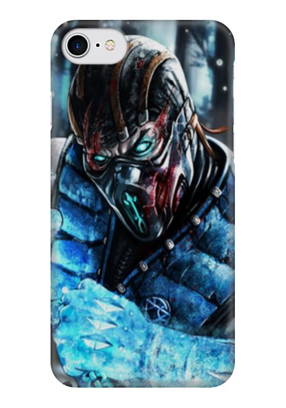 Чехол для iPhone 7 глянцевый Printio Mortal kombat чехол для iphone 7 глянцевый printio horror art