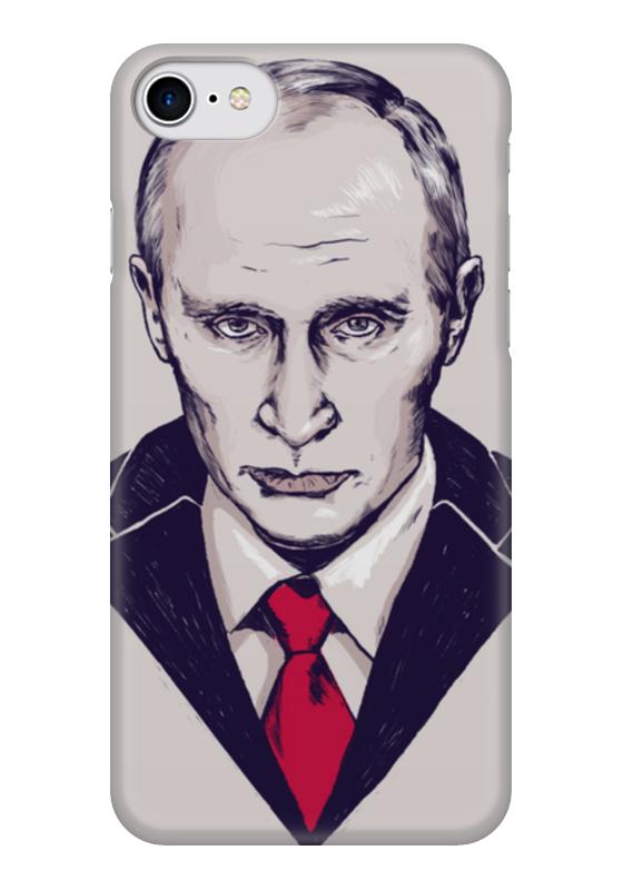 Чехол для iPhone 7 глянцевый Printio Путин чехол для iphone 7 глянцевый printio skull art