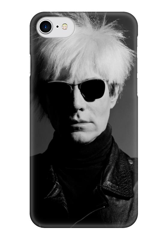 Чехол для iPhone 7 глянцевый Printio Уорхол