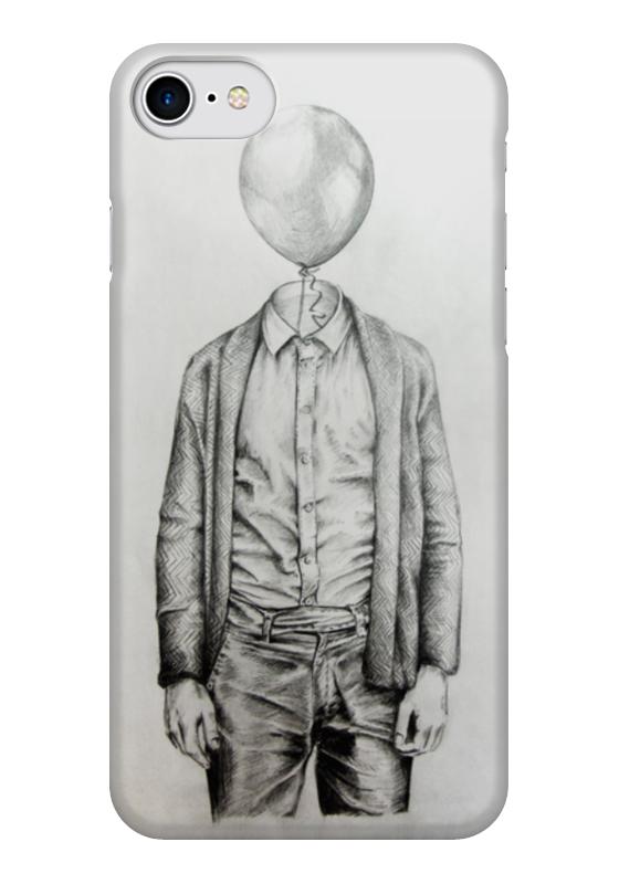 Чехол для iPhone 7 глянцевый Printio Mr.baloon чехол для iphone 6 глянцевый printio мистер хайзенберг