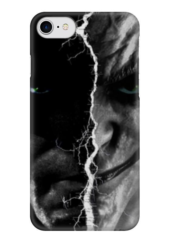 Чехол для iPhone 7 глянцевый Printio Batman vs joker лонгслив printio batman x joker