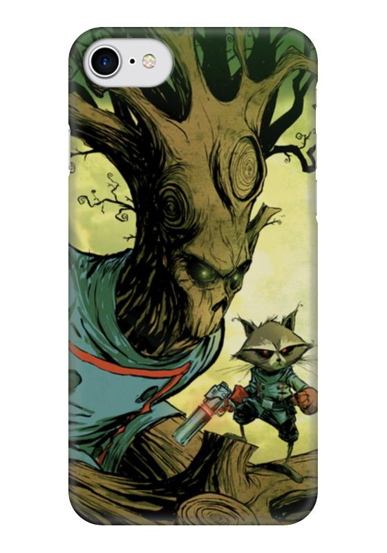 Чехол для iPhone 7 глянцевый Printio Comics art series: стражи галактики чехол для iphone 7 глянцевый printio horror art