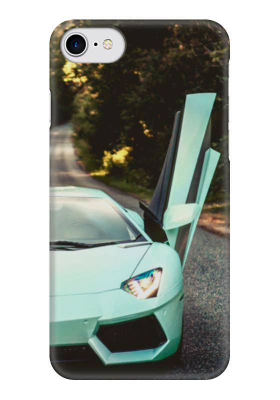 Чехол для iPhone 7 глянцевый Printio Lamborghini