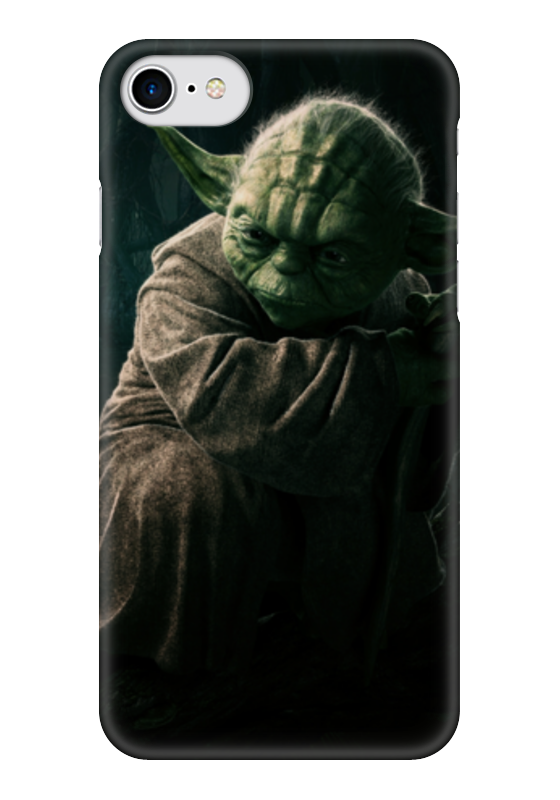 Чехол для iPhone 7 глянцевый Printio Star wars love heart dijiao tpu phone case for samsung galaxy j3 2017 prime
