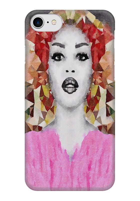 Чехол для iPhone 7 глянцевый Printio Наоми наоми кляйн заборы и окна хроники антиглобализационного движения