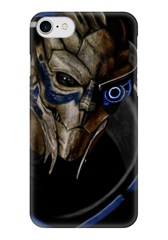 Чехол для iPhone 7 глянцевый Printio Mass effect (garrus vakarian) mass effect volume 4 homeworlds