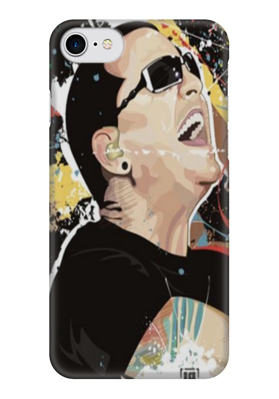 Чехол для iPhone 7 глянцевый Printio Linkin park,chester bennington чехол для iphone 7 глянцевый printio lp chester benningtonkeys to the kingoom