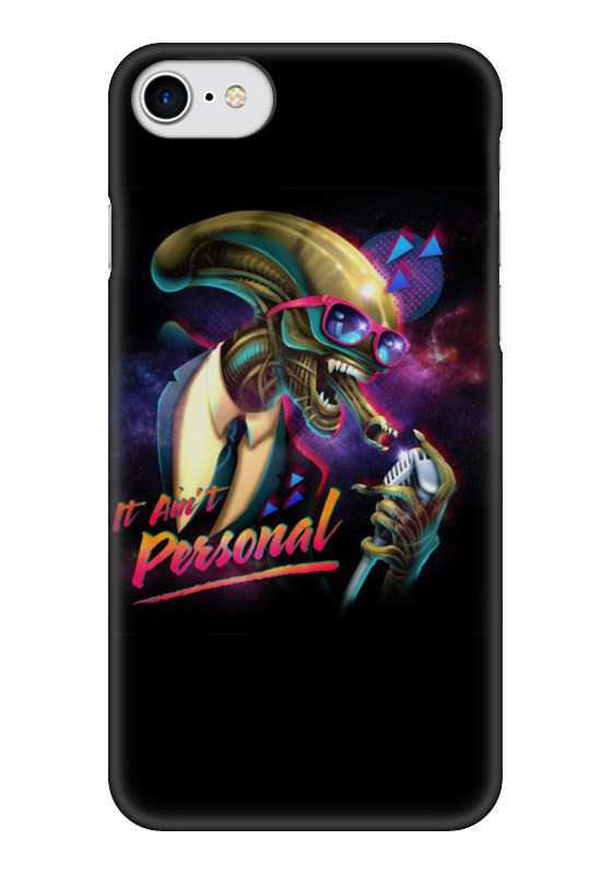 Чехол для iPhone 7 глянцевый Printio Alien / чужой чехол для iphone 7 глянцевый printio мечты витторио коркос