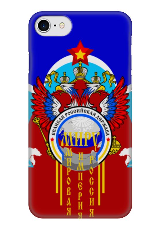 Чехол для iPhone 7 глянцевый Printio Миру - мир чехол для iphone 7 глянцевый printio филиппинский орел