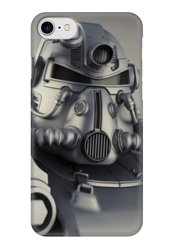 Чехол для iPhone 7 глянцевый Printio Fallout чехол для iphone 6 глянцевый printio fallout boy