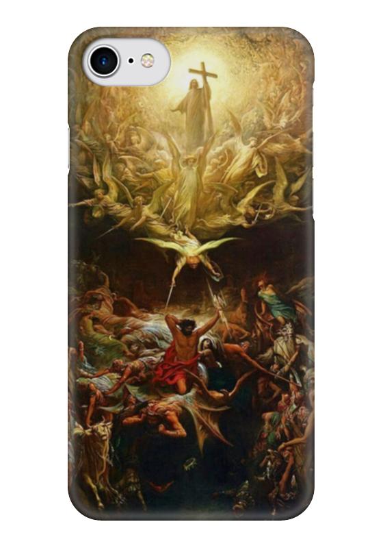 Чехол для iPhone 7 глянцевый Printio Триумф христианства над язычеством триумф времени и бесчувствия