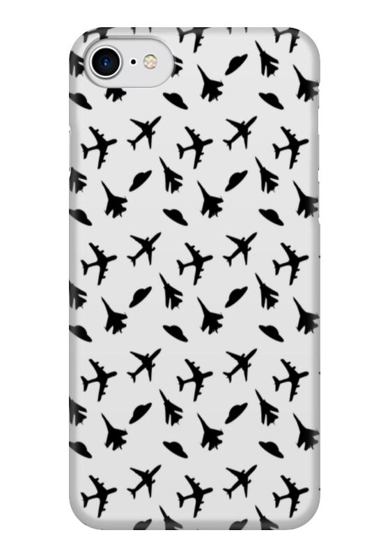 Чехол для iPhone 7 глянцевый Printio Самолетики printio чехол для iphone 7 глянцевый