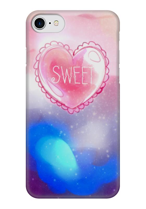 Чехол для iPhone 7 глянцевый Printio Sweet heart чехол для iphone 6 глянцевый printio sweet dream