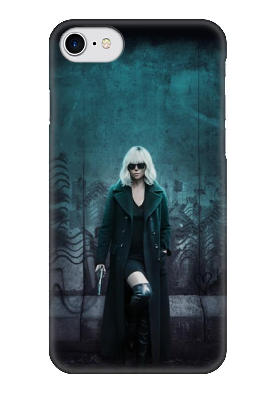 Чехол для iPhone 7 глянцевый Printio Взрывная блондинка чехол для iphone 7 глянцевый printio альтрон мстители