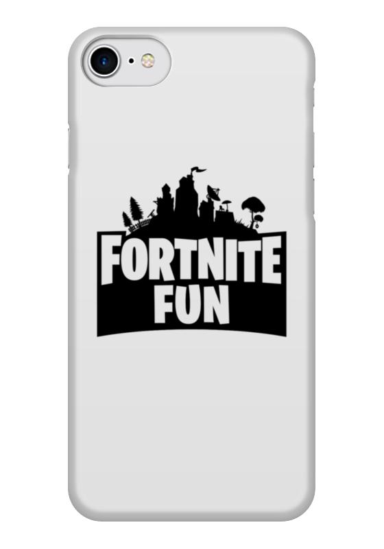 Чехол для iPhone 7 глянцевый Printio Fortnite fun чехол для iphone 7 глянцевый printio альтрон мстители