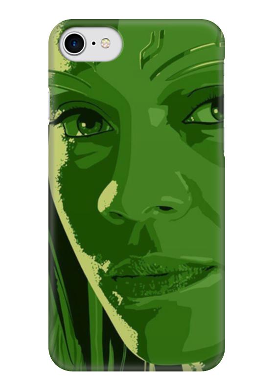 Чехол для iPhone 7 глянцевый Printio Гамора