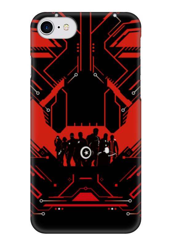 Чехол для iPhone 7 глянцевый Printio Альтрон (мстители) чехол для iphone 6 глянцевый printio альтрон ultron