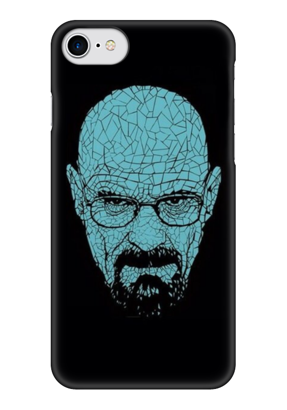 Чехол для iPhone 7 глянцевый Printio Мистер хайзеньерг