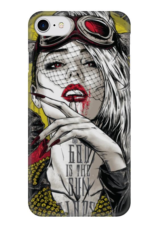 Чехол для iPhone 7 глянцевый Printio Мой бог — солнце священник георгий завершинский господь мой и бог мой