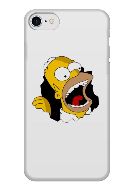 Чехол для iPhone 7 глянцевый Printio Объёмная печать сомпсоны . чехол для iphone 7 глянцевый printio lp chester benningtonkeys to the kingoom
