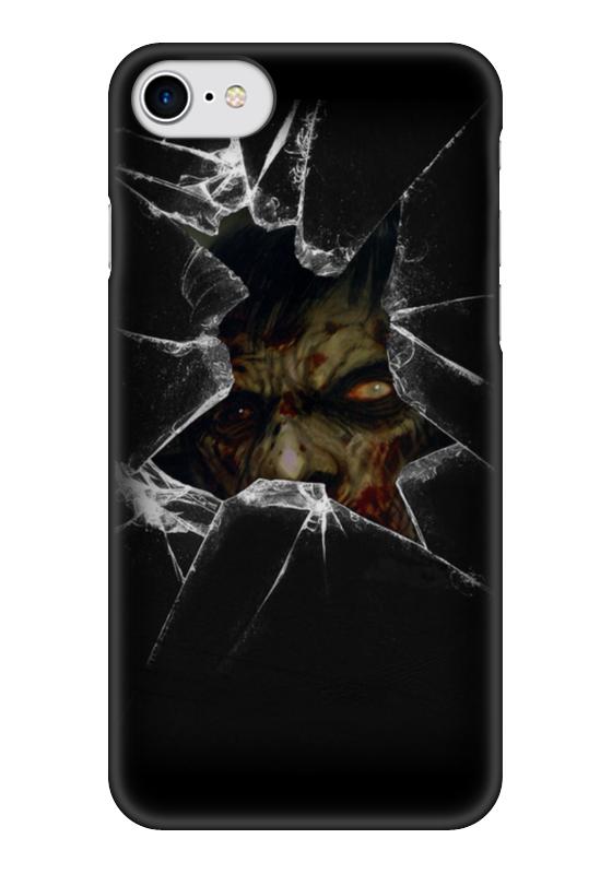 Чехол для iPhone 7 глянцевый Printio Zombie art чехол для iphone 7 глянцевый printio zombie art