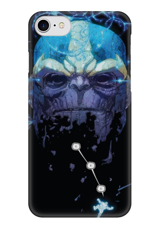 Чехол для iPhone 7 глянцевый Printio Танос чехол для iphone 7 глянцевый printio skull art