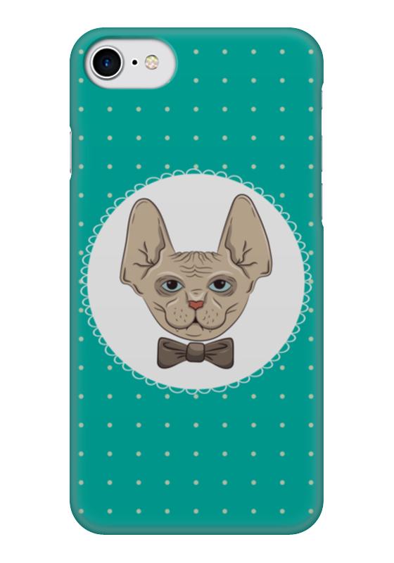 Чехол для iPhone 7 глянцевый Printio Кот сфинкс абиссинский кот в харькове